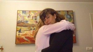 Hoy quiero contaros un secreto: los abrazos son mágicos ¡Tachán!
