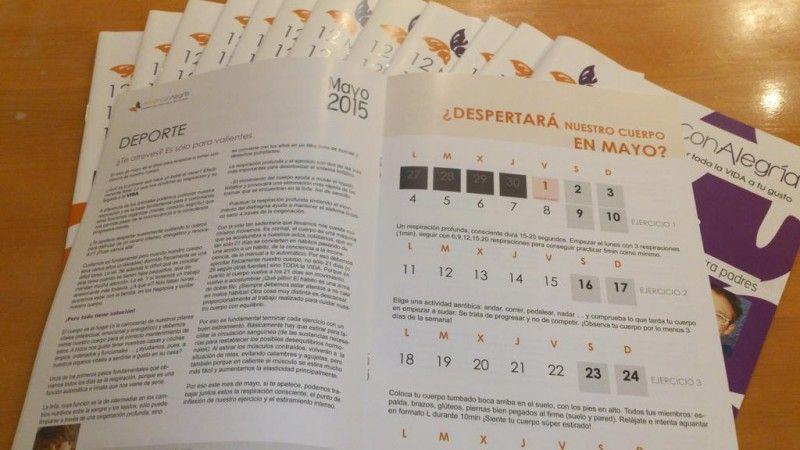 Balance calendario 2015