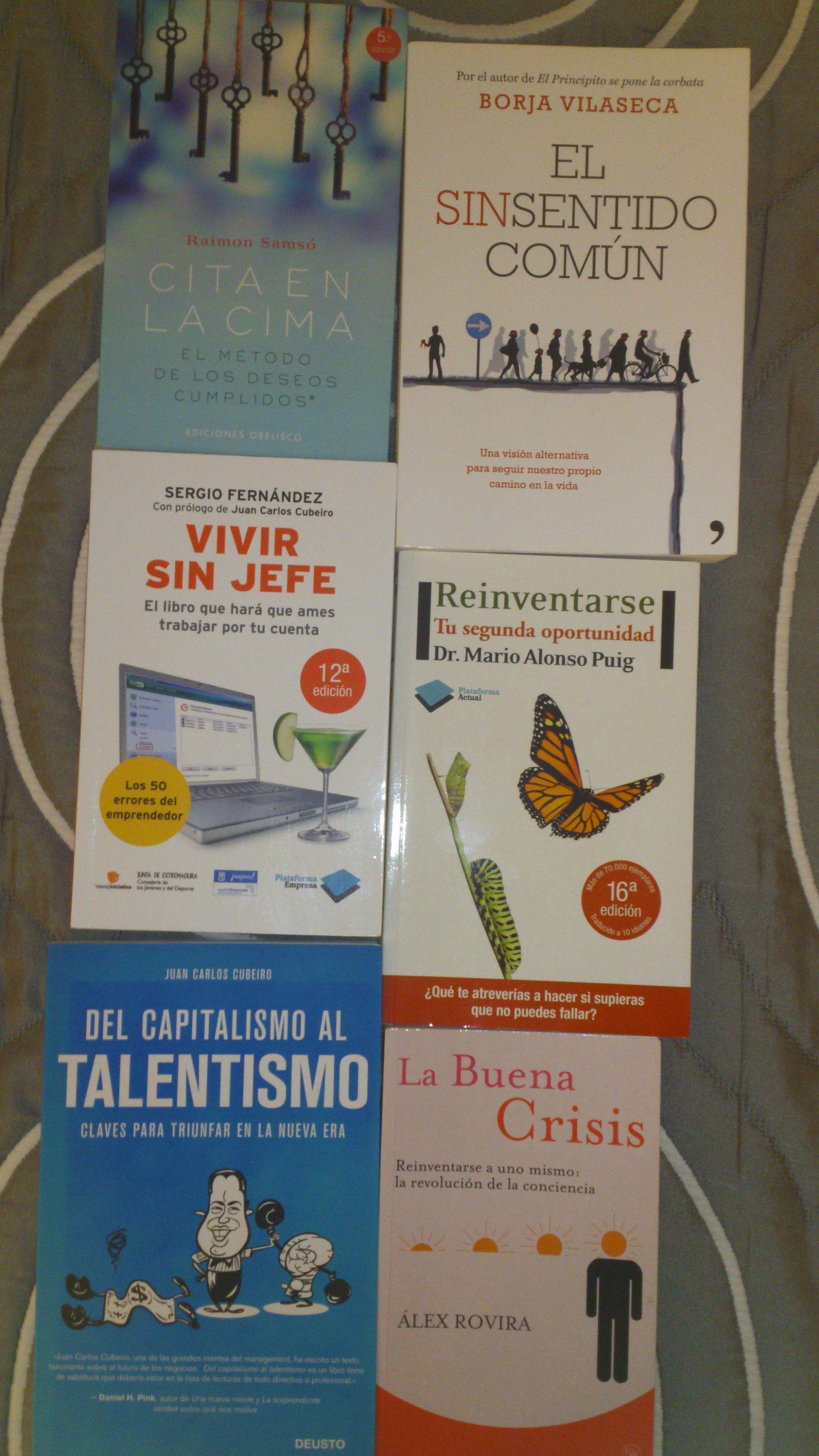 Lectura para padres emprendedores: 6 autores, conferenciantes, nacionales que han cambiando mi visión con un libro