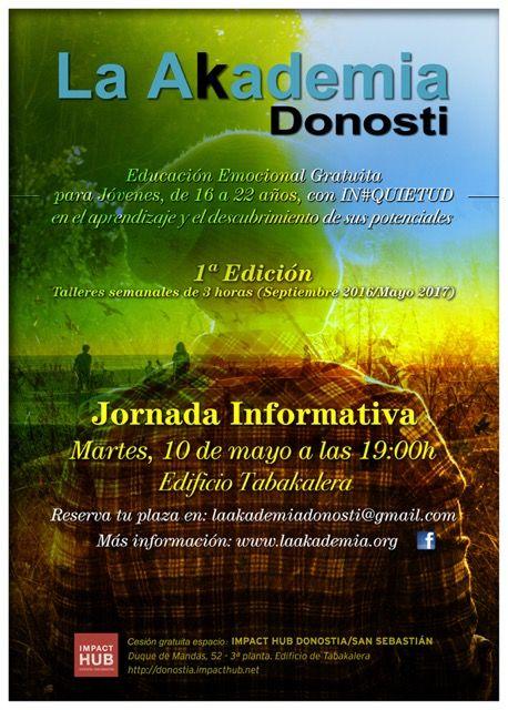 La Akademia Donostia abre sus puertas: 10 de mayo presentación en Tabakalera.