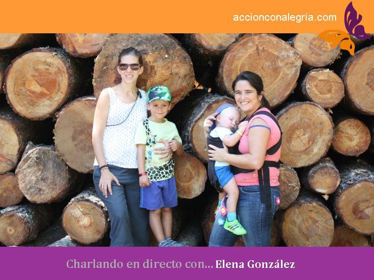 Charlando en directo con… Elena González Silva