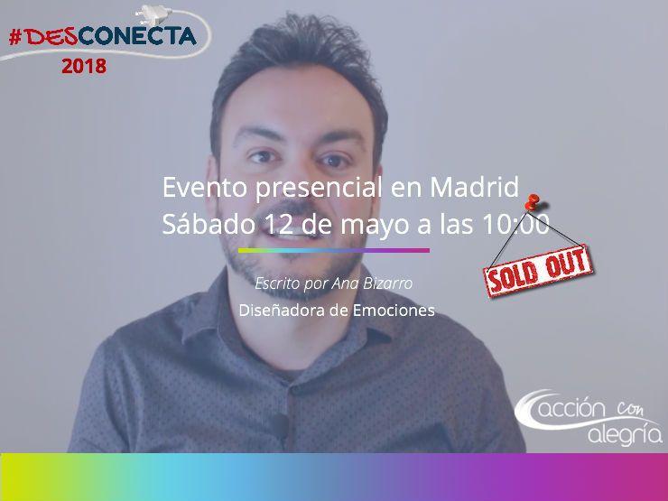 Desconecta: 1er evento de Marketing y Desarrollo Personal organizado por Omar de la Fuente