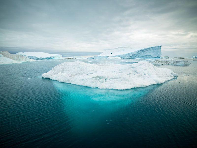 un iceberg es como tu imagen de marca