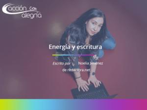 Energía y escritura